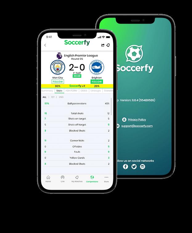 SOCCERFY App - Client