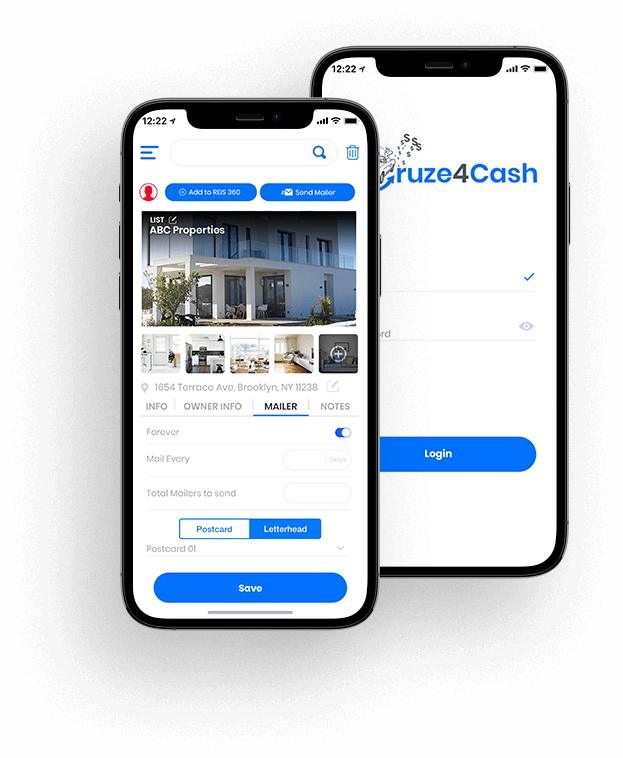 CRUZE4CASH App - Client