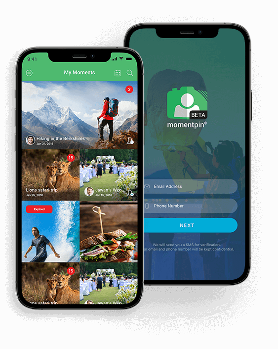 MOMENTPIN App - Client